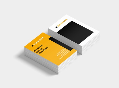 Business cards for a carpenter