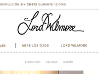 Lord Wilmore logo