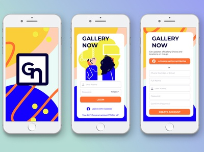 Gallery Now Login Page