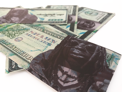 DeathTrap Dollars visual communication visual identity music design identity typography branding rap hiphop music design user experience ui