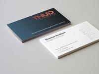 THUDcreative Business Card Mockup