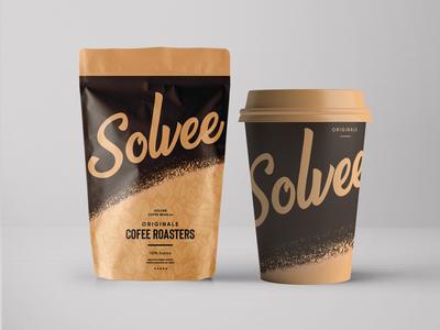 Solvee Coffee | Dirbbble Weekly Warm-Up