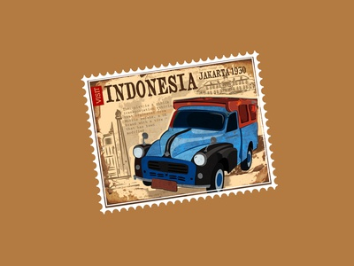 VISIT INDONESIA | Dribbble Weekly Warm-Up