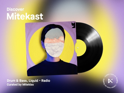 Discover | Mitekast artwork colourful album art digitalart graphicdesign graphics design art design creative photoshop