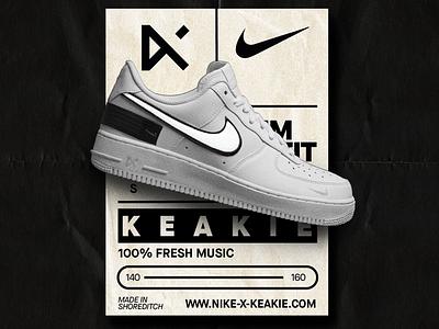 Nike x Kekaie airforce