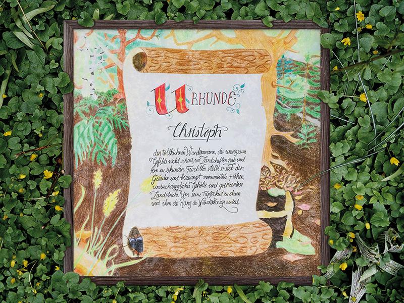 Ribbitknight wanderkonig