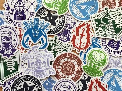 Pixel Passport breath of the wild diablo chrono trigger pokemon megaman dark souls legend of zelda metroid final fantasy stamps stickers video games