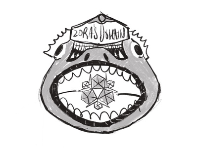 Zora's Domain sketch gaming pxpassport zelda legend of zelda video games illustration sketch