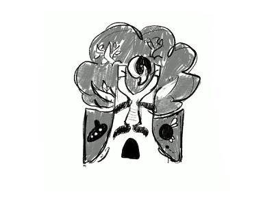 Kokiri Forest sketch legend of zelda design ipad sketch pencil passion project video games illustration
