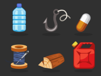 Survival Game Icons