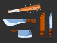 Survival Game Props