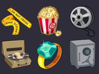 Detective Pack Icons 2