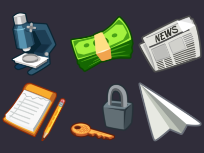 Detective Pack Icons 3
