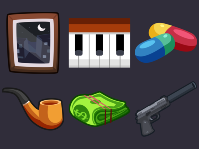 Detective Pack Icons 7