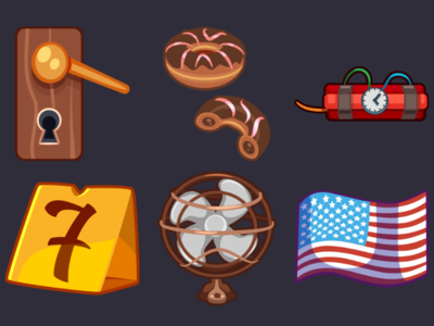 Detective Pack Icons 10