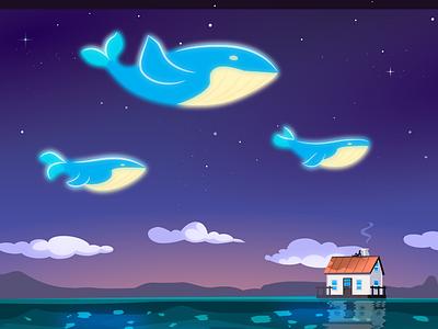 Flow illustration 2d vector cartoon inkscape
