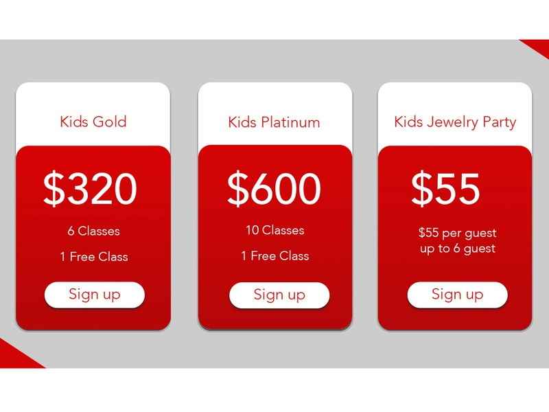 Pricing table design website webdesign uidesign