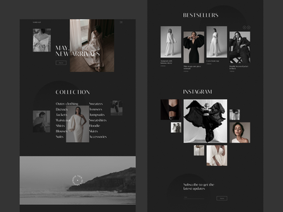 Namelazz minimal design web-design ui web designer clean design black
