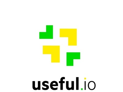 Useful IO logo design