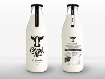 Cornish Moo - Bottle Design