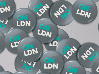 OnLondon - pin badges