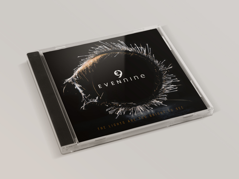 EvenNine - Album artwork graphic design booklet cd music band album artwork album artwork design