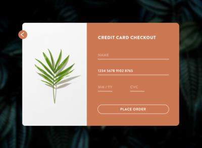 Daily UI 002 | Checkout