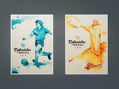Cafezinho do Brasil posters