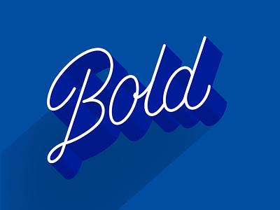 Extra Bold! monoline script typography bold lettering procreate