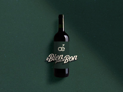 Packaging Oé design graphic lettering typography logotype logo packaging french redwine wine