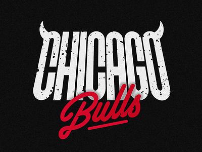 Chicago Bulls graphic lettering design logotype type logo typography ilovethisgame basketball nba