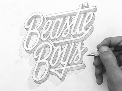 Beastie Boys Sketch