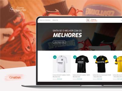 E-Commerce Gama Esportes