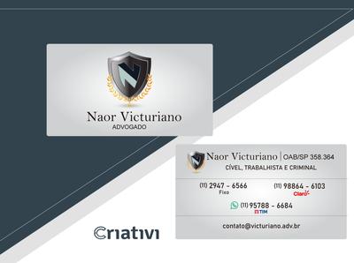 Cartão de Visita Naor Victuriano