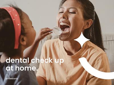 Smiletronix Logo Proposal Promo teledentistry teeth symbol smiletronix oral mouth mark logo logotype healthcare health ios identity diagnosis dentist dental branding app analysis ai