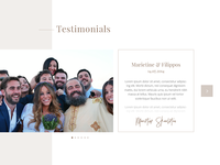 Wedding Videography Testimonials Section