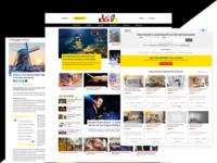 IamExpat Netherlands Portal UI Design