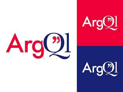 ArgQl Query Language Logo branding identity logotype logo technology data dialog argumentation argument structure language query argql