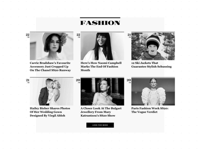 Athens Voice Look Category News ui design typography portal news lifestyle gallery fashion elegant editorial beauty articles athens voice