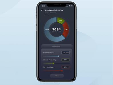 Auto-Loan Calculator — Daily UI #004