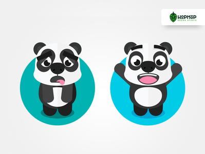 Active Panda |Ilustrations