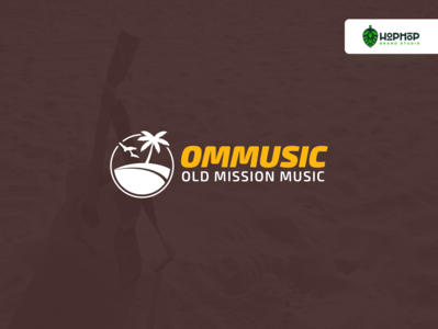 Old Mission Music   Logo Design