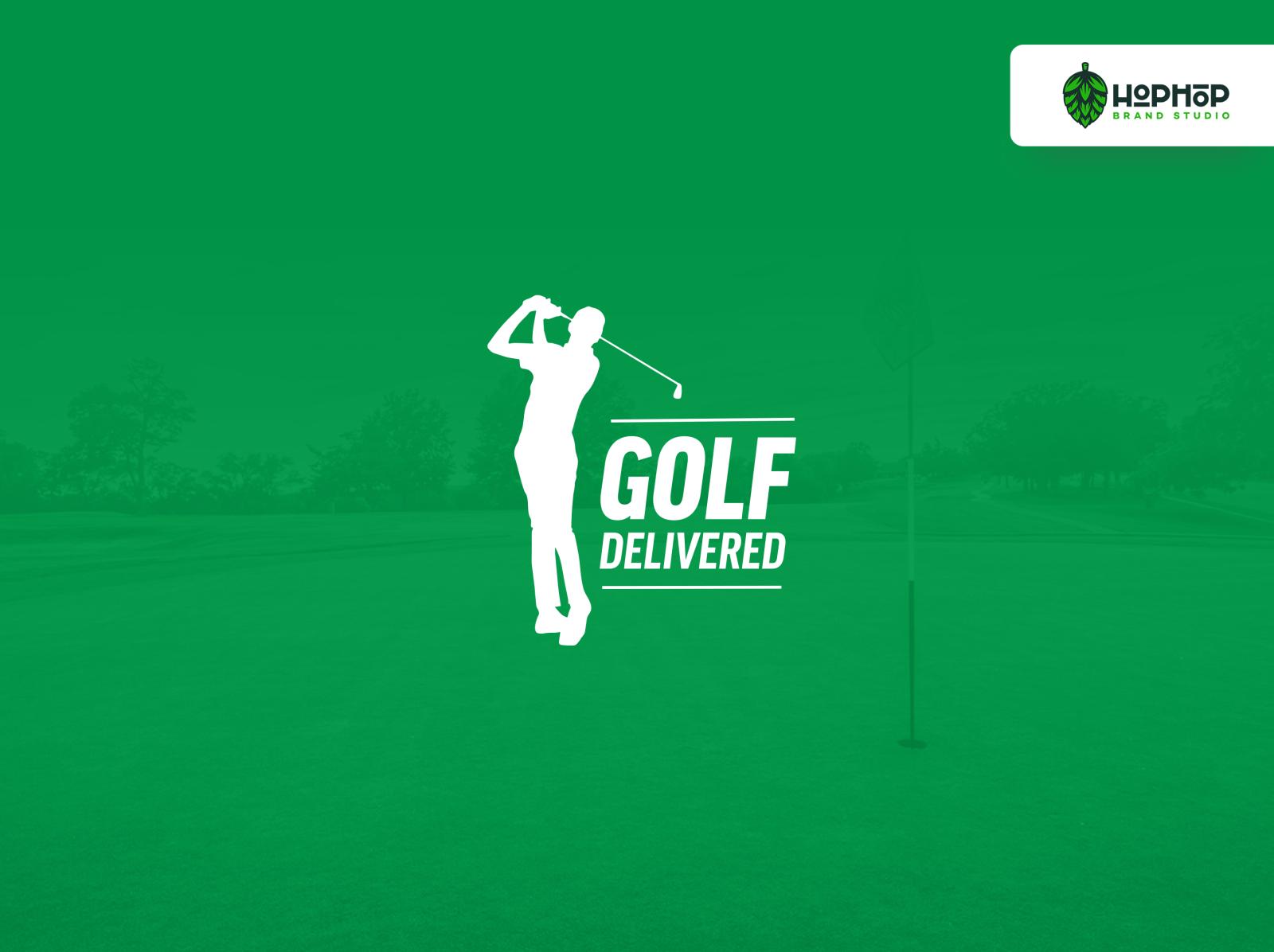 Golf Delivered Logo Design By Alejandro Lopez On Dribbble