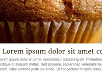 Muffin Email Template