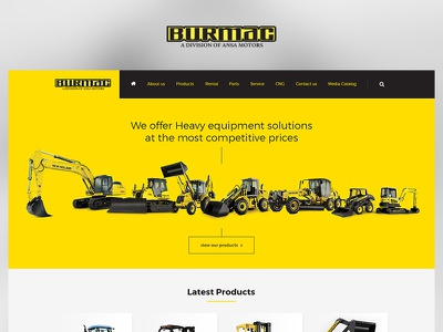 Burmac case study web photoshop website redesign ui ux design project