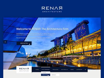 Renar Architect Theme