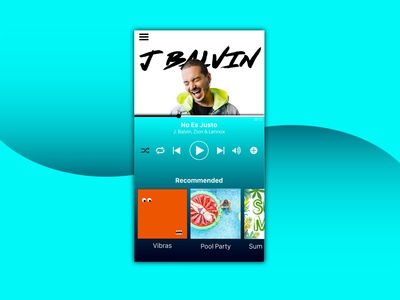 UI Music Player