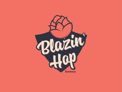 Blazin' Hop Logo