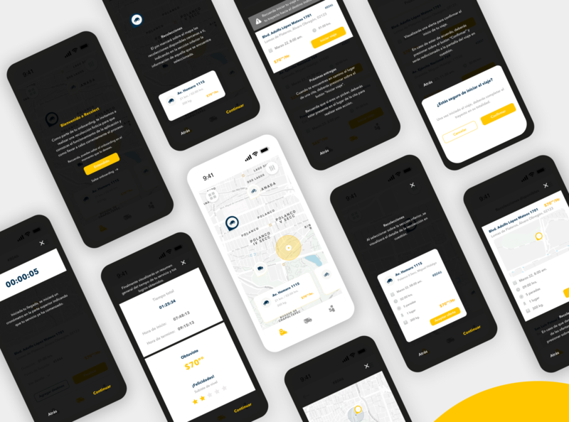 Pick-up app - Onboarding