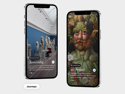 Tourlistic Application angle simple minimalism minimalist minimal mockup iphone tour design mobile app mobile ux app design app ui design ui
